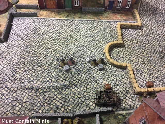 Germans advance on a Universal Carrier - Bolt Action Battle Report