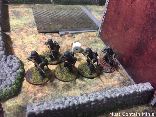 5 Man German Squad