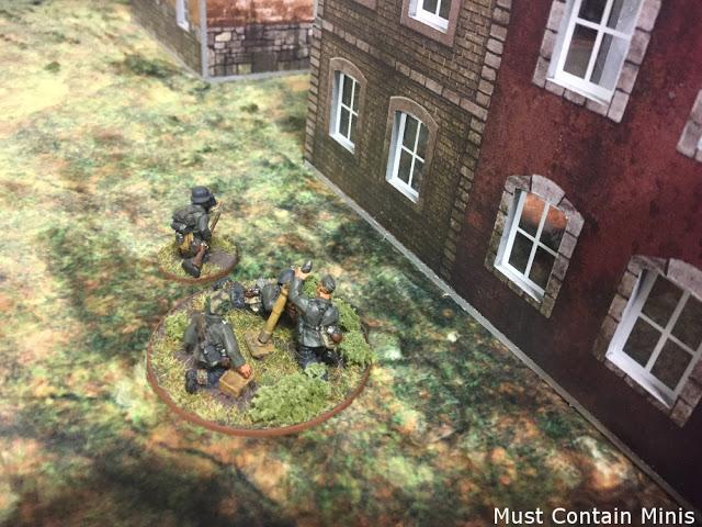 A German Medium Mortar Team