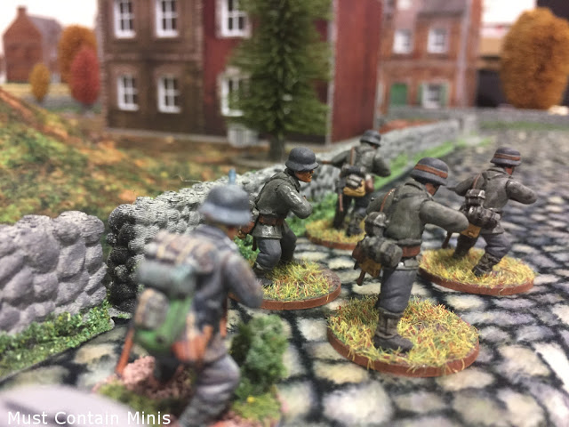 German soldiers in Bolt Action