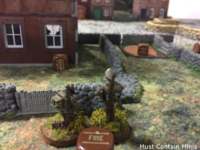 Bolt Action - Forward Observer calls in an artillery bombardment