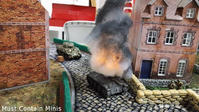 Sherman Kills a StuG - Bolt Action Battle Report