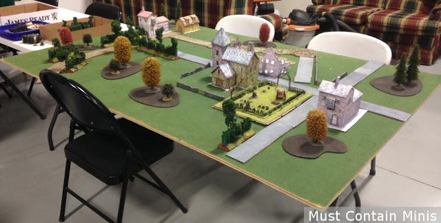 Wargaming with Paper Buildings / terrain