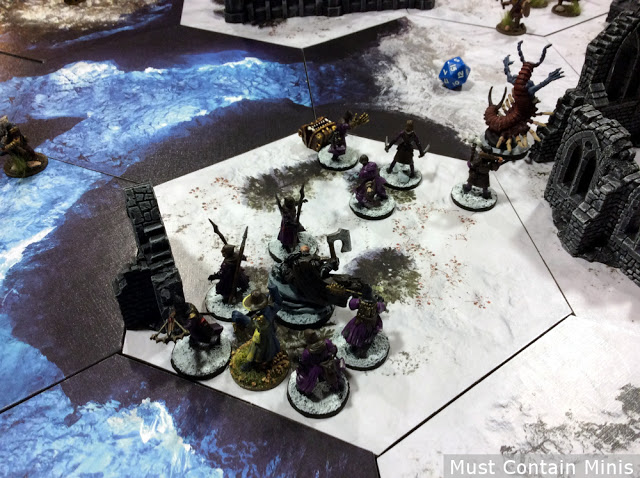 Frostgrave Battle Report - Into the Breeding Pits
