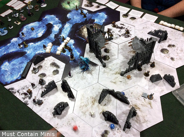 Frostgrave Into the Breeding Pits After Action Report (AAR)