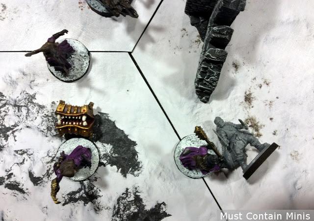 Frostgrave Templar Kills an Assassin
