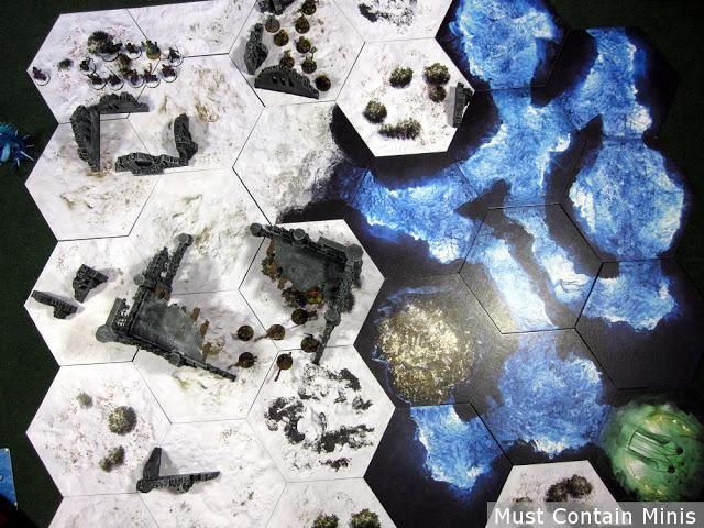 Terra Tiles in Use Table Top Terrain