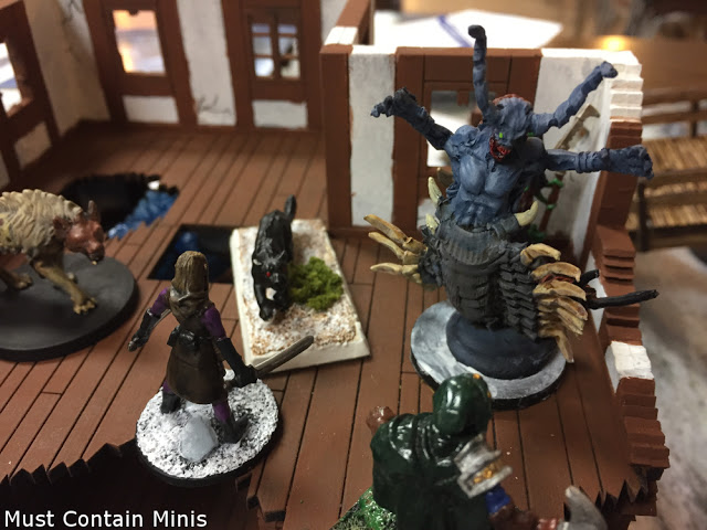 Frostgrave Forgotten Pacts Battle Report with homemade Ulterior Motives Objectives