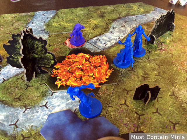 Incantris the Board Game Review and Initial Thoughts