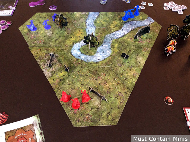 Incantris Battle Report / Play Through and Review