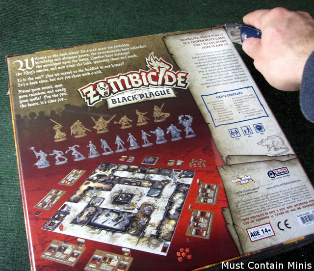 Looking at Zombicide: Black Plague by Cool Mini or Not