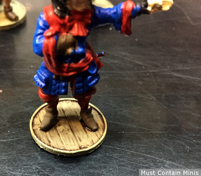 Bases on Blood & Plunder Miniatures by Firelock Games
