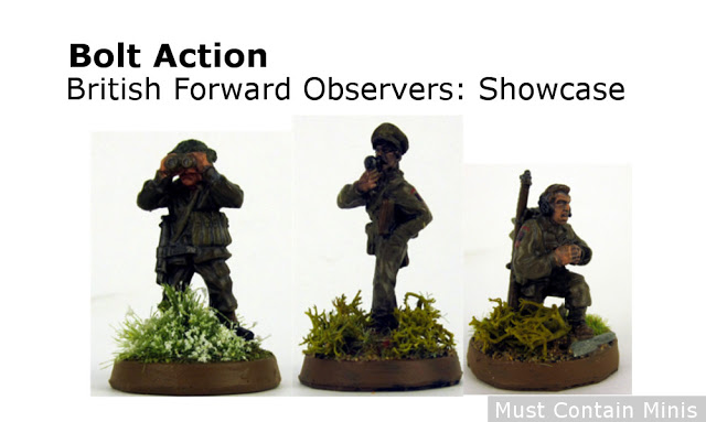 Read more about the article Bolt Action Showcase: British Army Forward Observation Officer Team