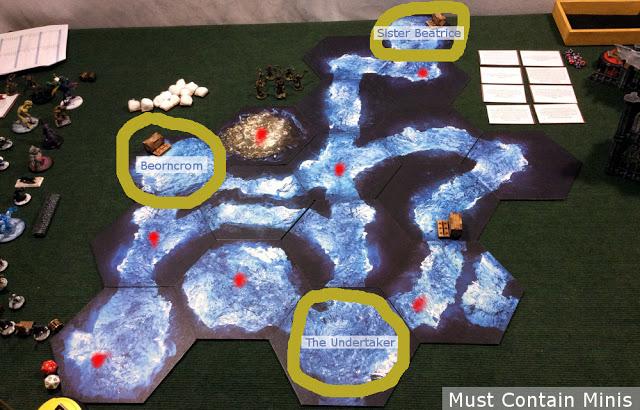 Frostgrave Deployment Zones - AAR on TerraTiles
