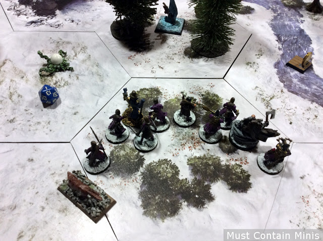 Frostgrave Cultists Deploying