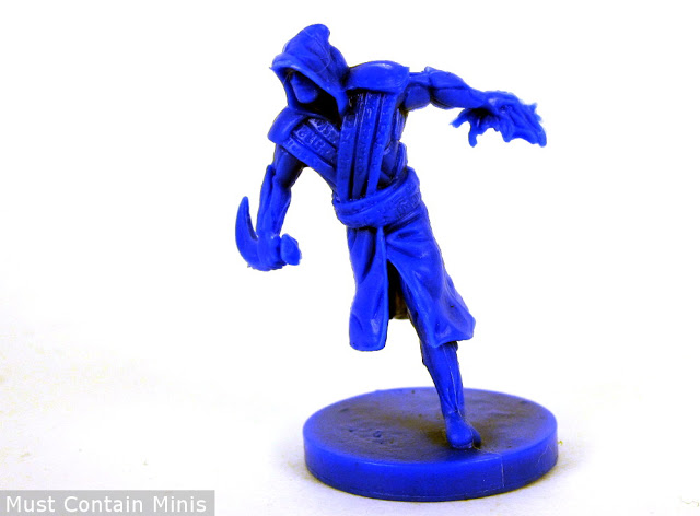 The Shadow Weaver Wizard Miniature from Incantris