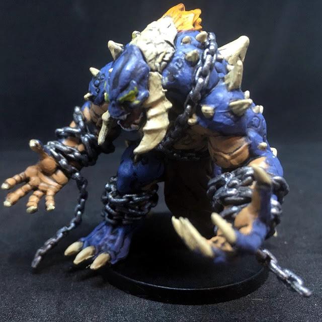 Painted Troll Miniature - Sword & Sorcery Board Game