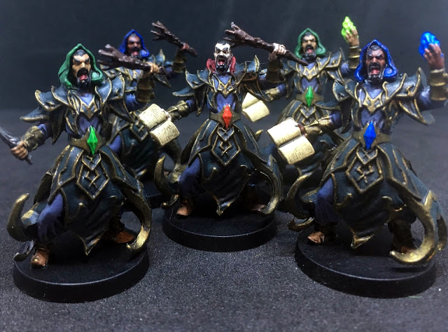 Painted Miniatures - Sword & Sorcery Board Game