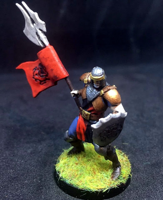 Warlord Miniature from Sword and Sorcery