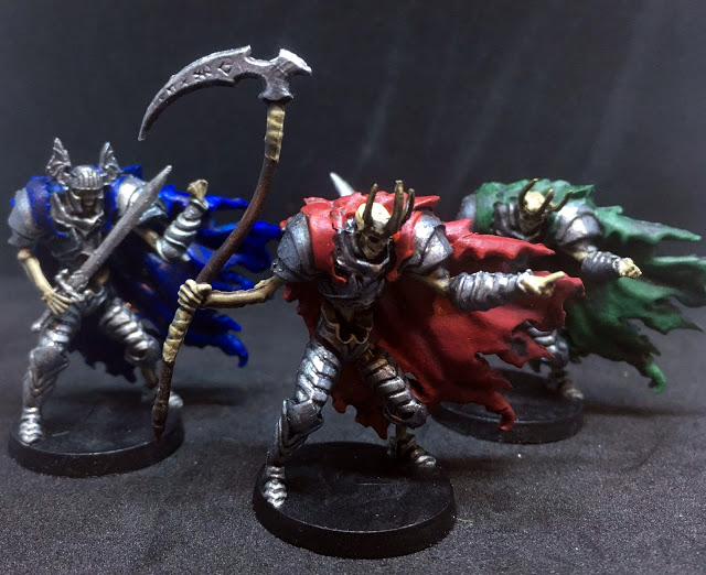 Painted Death Knight Miniatures - Sword & Sorcery Board Game