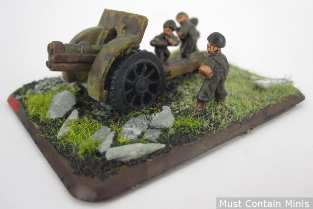 Flames of War Minis are like Miniature Dioramas.