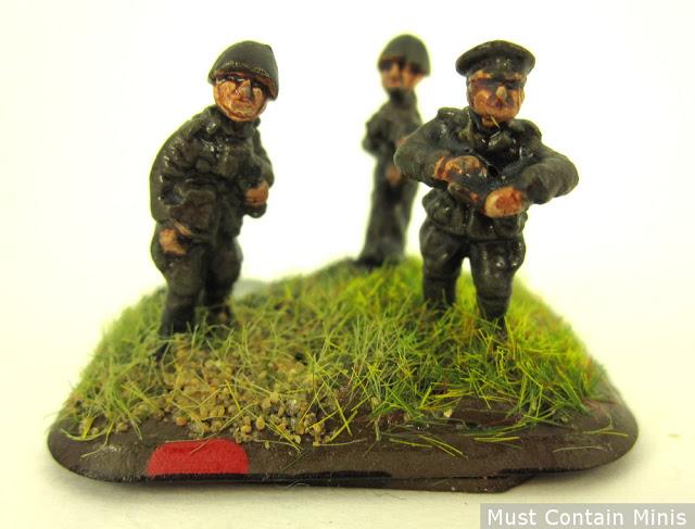 Flames of War Artillery Team Commander
