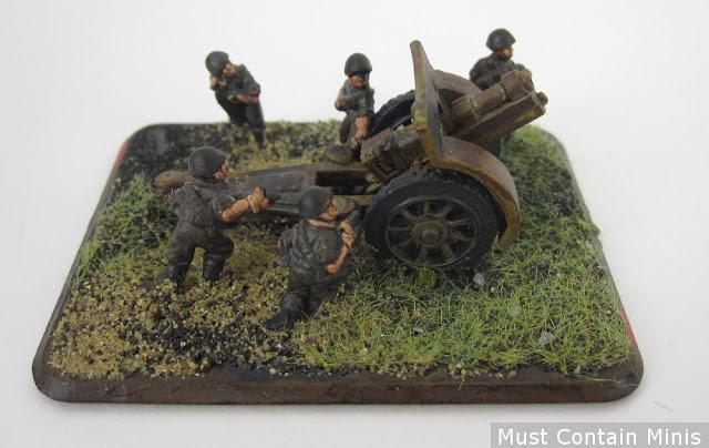 A German Artillery Gun for Flames of War