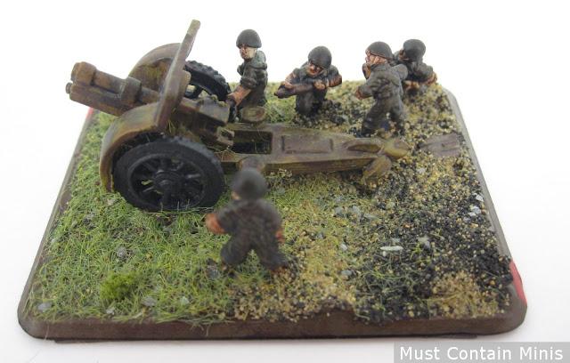 German Artillery Gun for Flames of War
