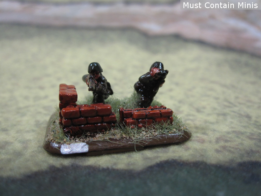 15mm German Snipers for 15mm WW2 Tabletop Games