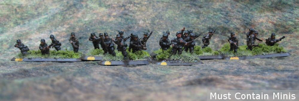 15mm Grenadier Scout Platoon