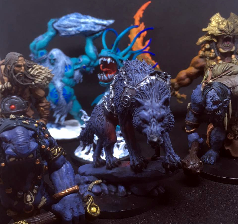 Read more about the article Showcase: Blood Rage Miniatures (Monsters)