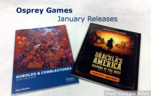 Read more about the article Osprey Games January 25 Releases (2018)