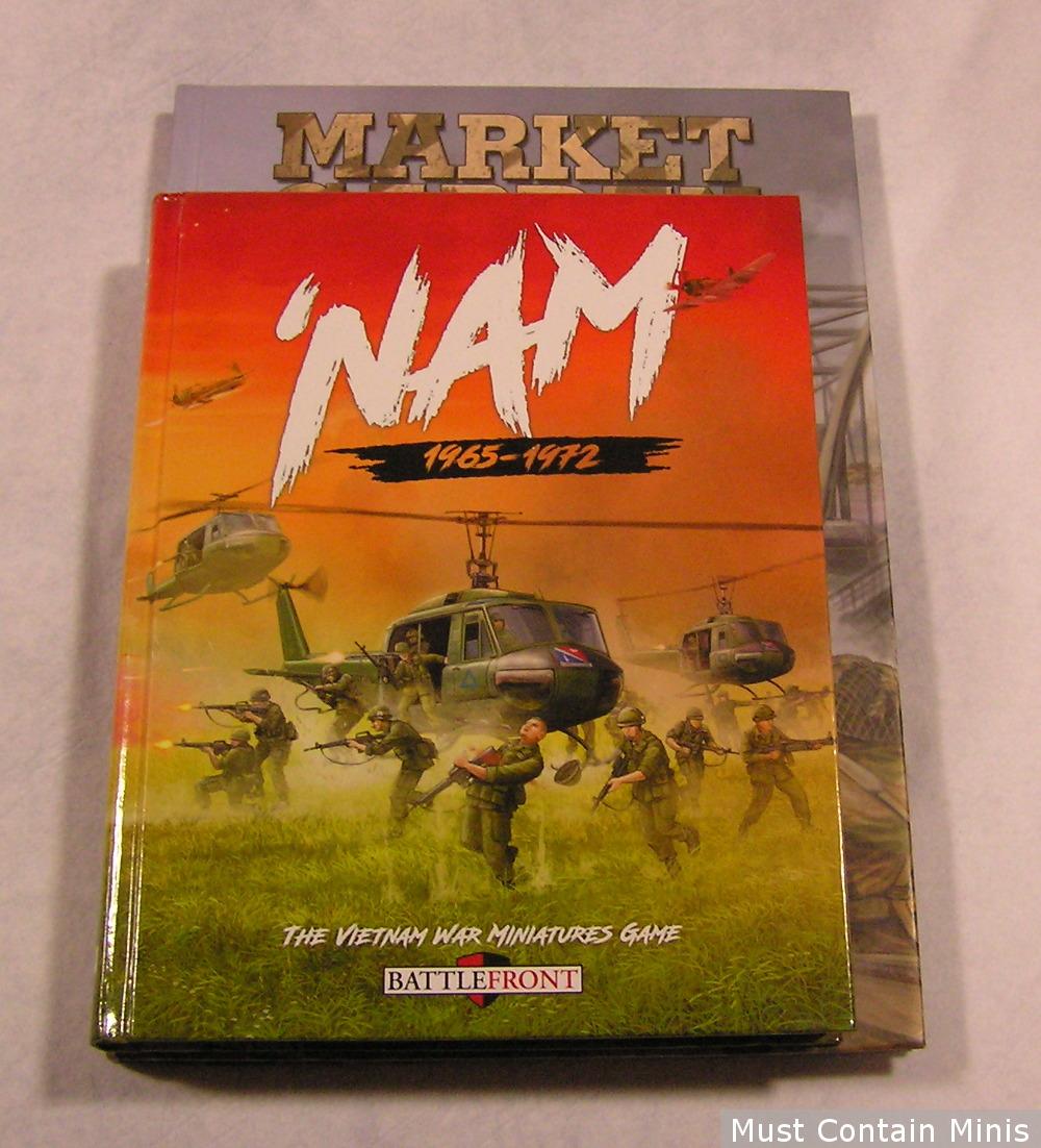BattleFront Vs Osprey Games Book Size