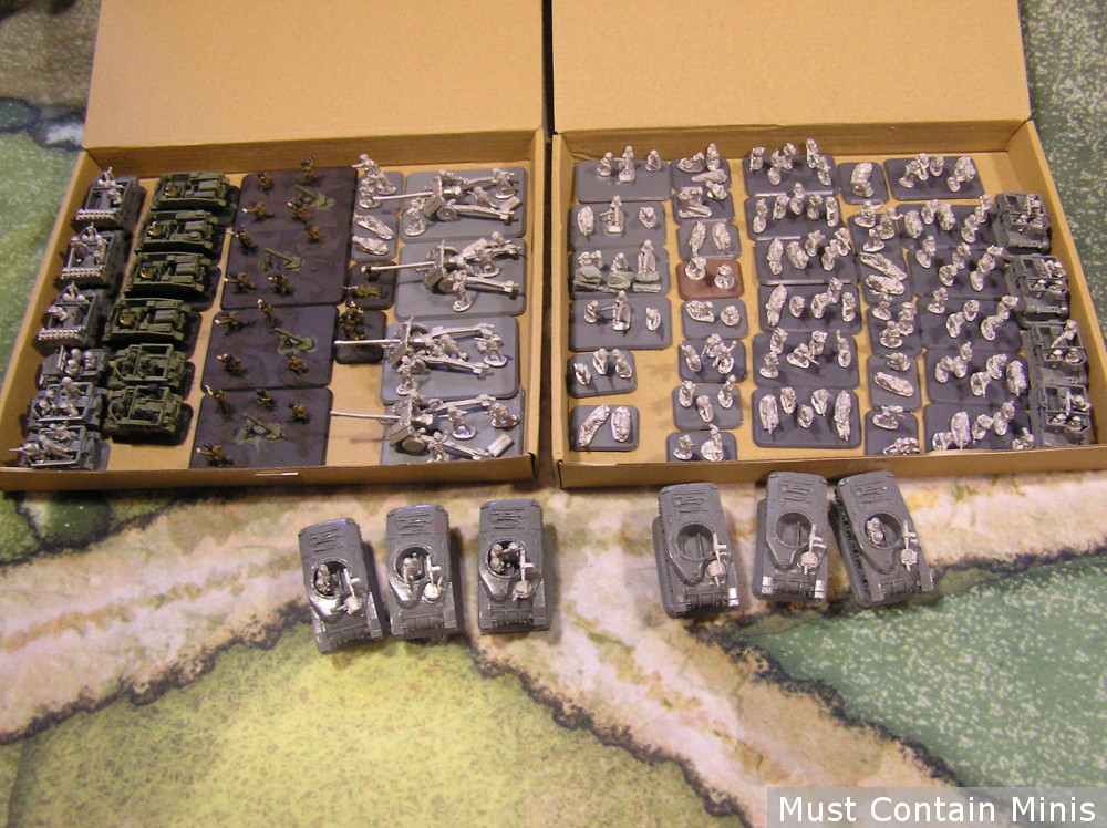 Flames of War Mobile Canadian Rifles Company