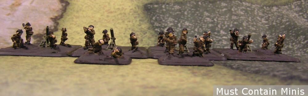 Heavy Mortar Platoon - FOW British