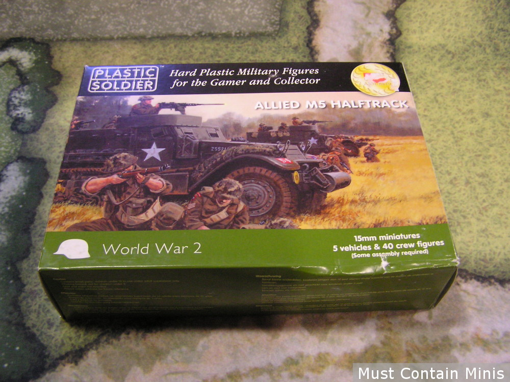 Plastic Soldier Company Half Tracks