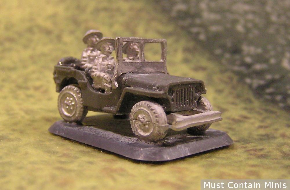 15mm WW2 Jeep - FoW