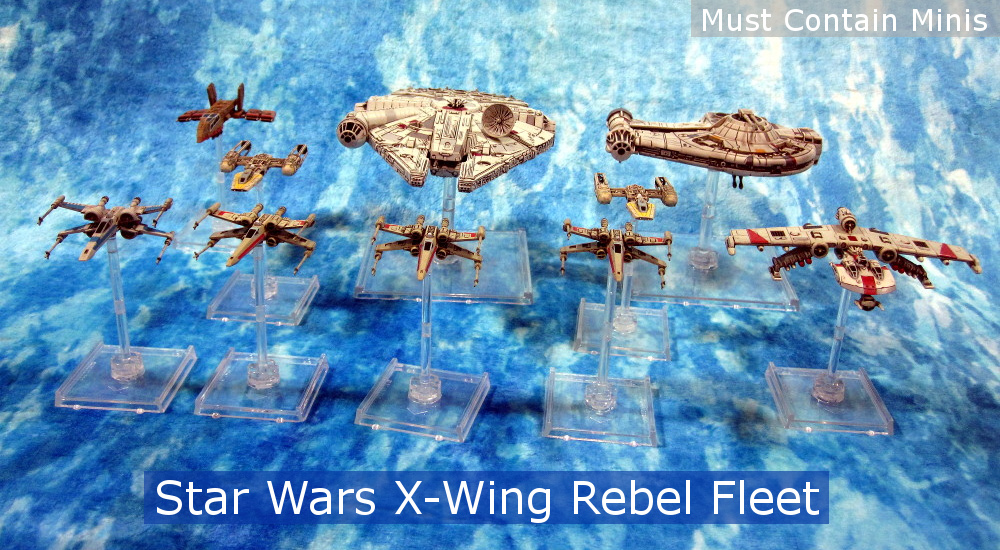 Read more about the article X-Wing Rebels Collection – Showcase