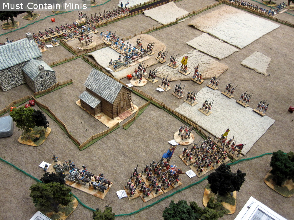 Regimental Fire and Fury Battle Report at Hotlead 2018