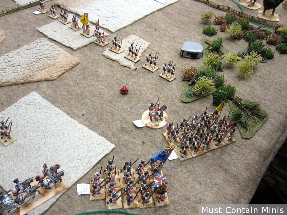 Regimental Fire & Fury Miniatures Game Battle Report