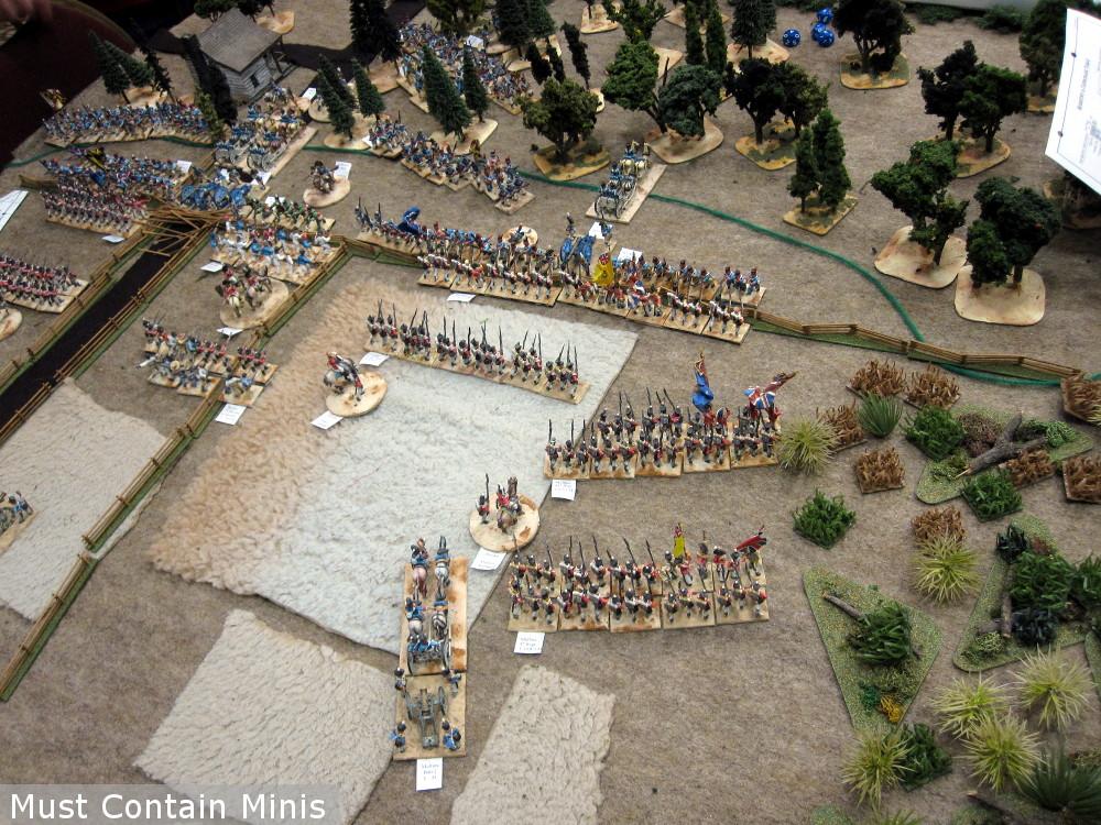 War of 1812 miniatures battle