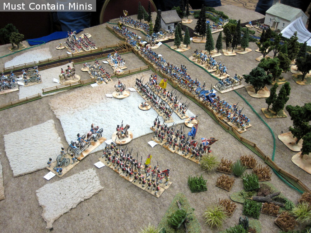 American Vs Canadian / British Battle Report - The Fight for Godly Woods