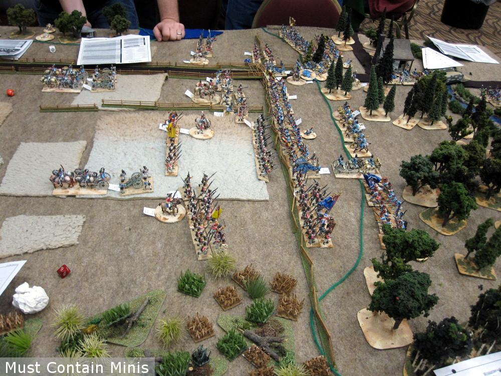 Regimental Fire and Fury Play Through