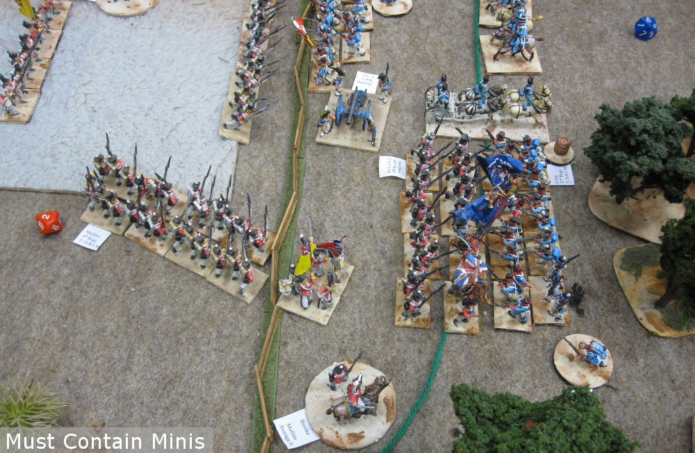 Regimental Fire and Fury War of 1812 Miniatures Game Battle Report