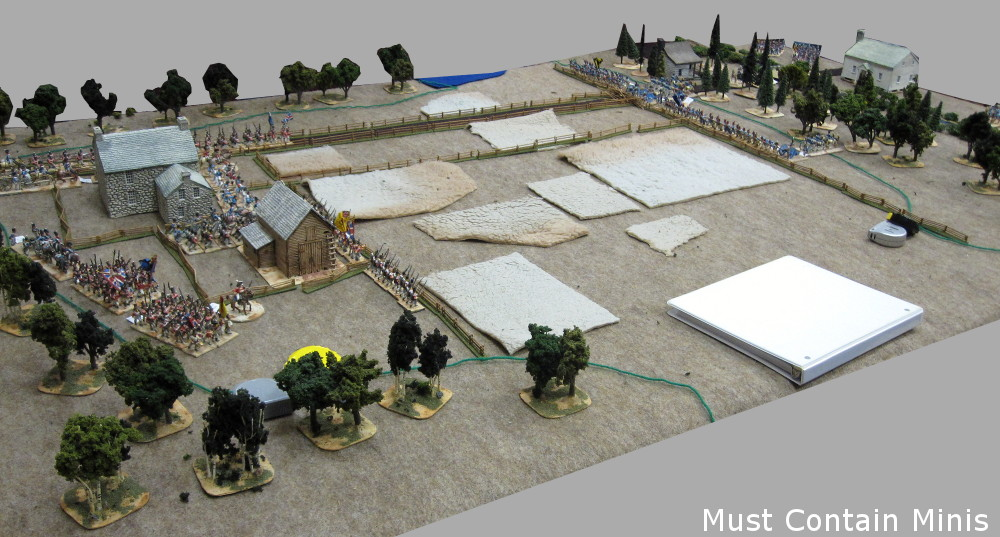 Regimental Fire and Fury Battle Report from Hotlead 2018