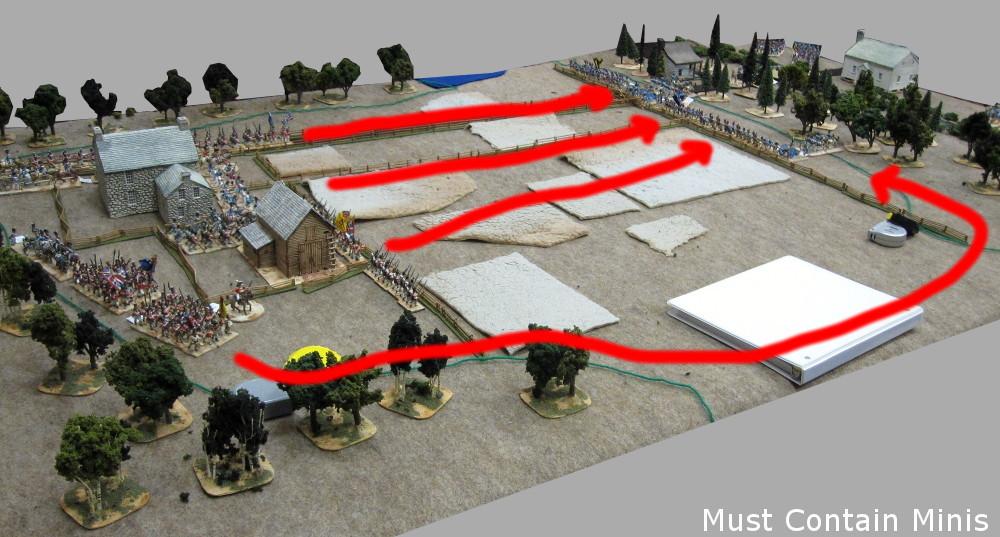 Regimental Fire and Fury Battle Plan for War of 1812