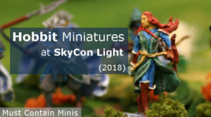 Read more about the article Showcase: Hobbit Miniatures at SkyCon Light (2018)