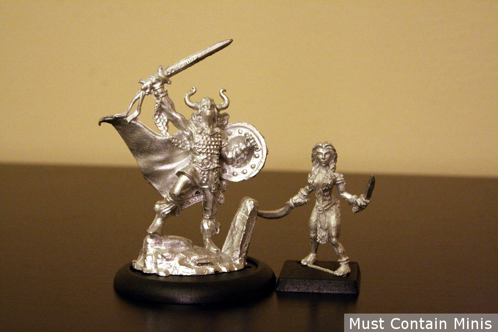 The Miniatures from May 2018's Model Box called Myths and Legends.