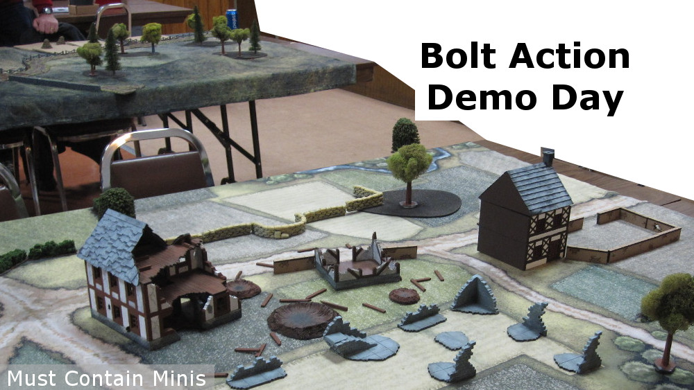 Read more about the article Gaming Report: Bolt Action Demo Day