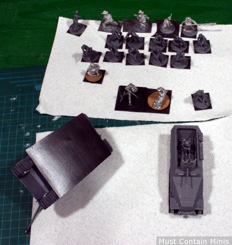 Magnetizing miniature vehicles for transport